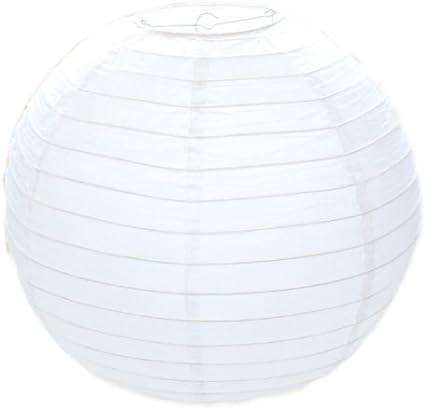 EUTOPICA Pack 10 Lámparas de Papel (20 cm): Amazon.es: Hogar