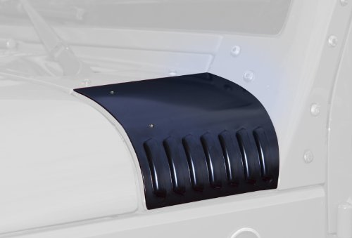 Drake Off Road JP-190003-BK Black Cowl Cover for Jeep JK - Pair
