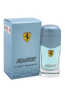 Perfume Freesia Blue Light (Ferrari Light Essence Men's Edt Spray, 1 Ounce)