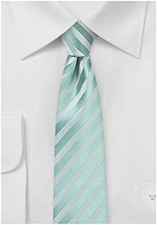 PUCCINI Corbata estrecha de Pucccini, 6 cm, diseño moderno, hecho ...