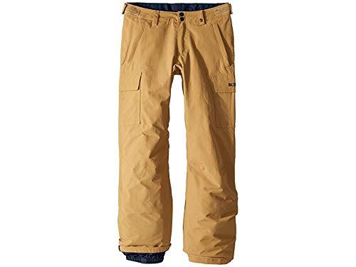 Vent Snowboard Pants - Burton Boys' Exile Cargo Snow Pant, Kelp W19, Small