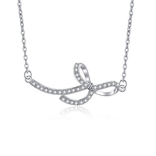 Designed 14k Gold Butterfly Charm - WINNICACA Butterfly Necklace 14k Gold Plated Butterfly Bow Necklaces for Women Girls Gifys