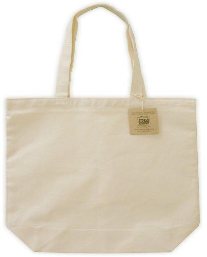 Amazon.com: Canvas Tote, EveryDay Shopper, Natural: Reusable ...