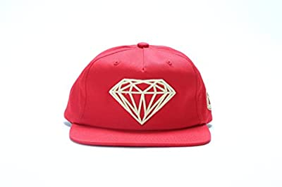 Diamond Supply Co Brilliant Snapback - Red