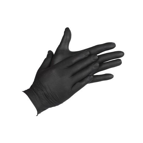 Cofan 11000015 Guantes de nitrilo Negro XL Set de 100 Piezas