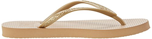 Reef Femme Gold Escape Or Tongs vxFwYvrUq
