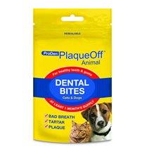 Proden Plaque Off Animal Dental Bites for medium and Large dogs: for healthy teeth and gums (150g x 2)