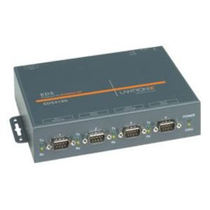 Lantronix Device Server EDS 4100 - Device server - 4 ports - 10Mb LAN, 100Mb LAN, RS-232 by Lantronix