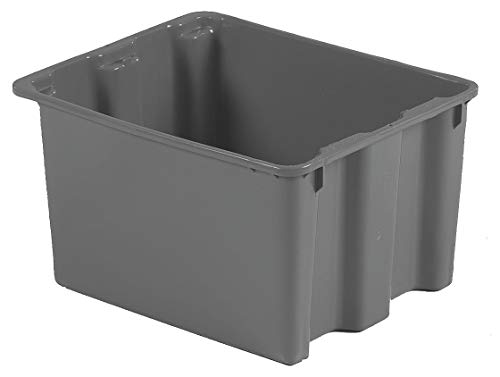 Lewisbins Stack and Nest Container, High Density Polyethylene, 21