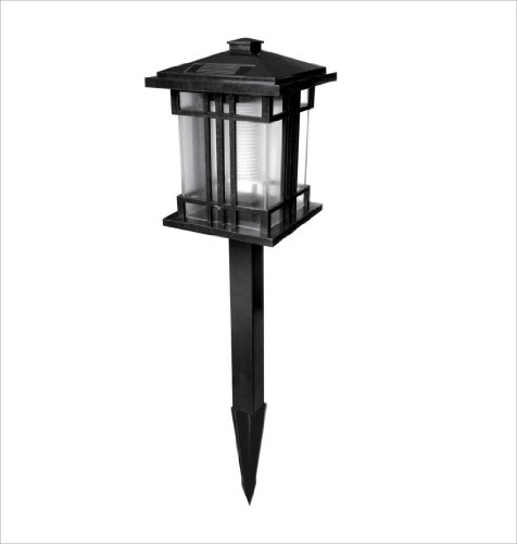 Pine Top Solar Garden Path Lights - 5