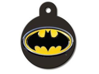 Super Hero Collection Licensed Personalized Custom Engraved Pet ID Tags! (Batman)