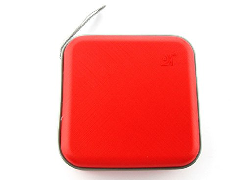 Omall (TM) CD VCD DVD Organizer Carrying Square Case Storage Holder Red 40 Disc