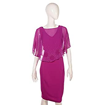 Dekelte Purple Mixed Special Occasion Dress For Women