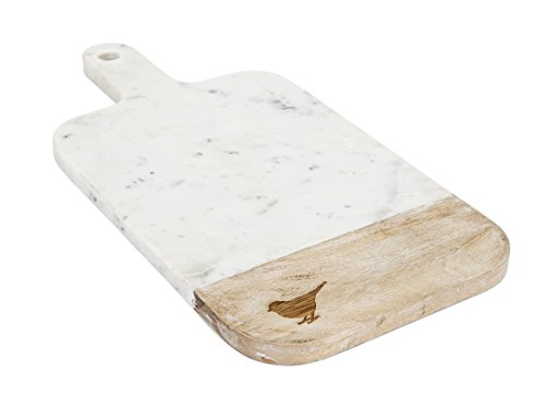 wood and marble cheese board - 4