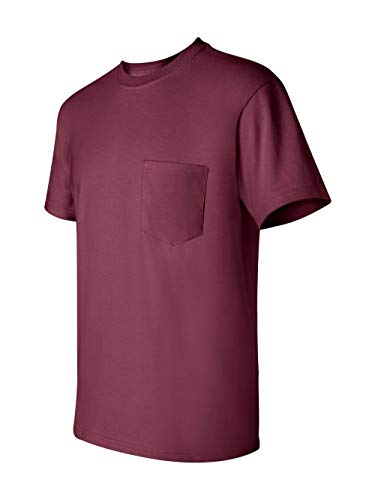 Gildan Adult Ultra CottonTM T-Shirt with Pocket G2300 - Maroon_XL