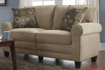 Excellent Amazon Com Loveseats For Small Spaces Sofa Beige Bralicious Painted Fabric Chair Ideas Braliciousco