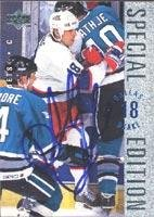 (Dallas Drake Winnipeg Jets 1995 Upper Deck Special Edition Autographed Card. This item comes with a certificate of authenticity from Autograph-Sports. Autographed)