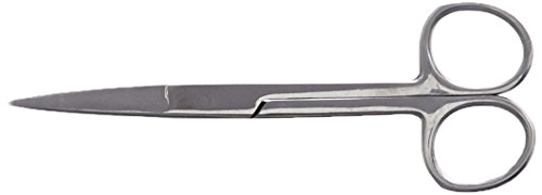 Oral32 34642 Operating Scissor, Sharp/Sharp, Straight, - Serrated Clam Stainless