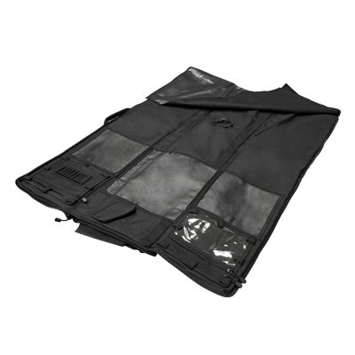 Deluxe Rifle Case/Shooting Mat Combo by NcStar/Vism. Close Out Price!! (Black)
