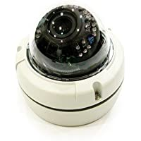 HDVD HD-SDI CCTV Full HD 2MP 1080p, Indoor / Outdoor IR Vandal Dome, 2.8-12mm, DC12V 21 Smart IR LED ICR Night Vision (True Day & Night) WDR, IP67