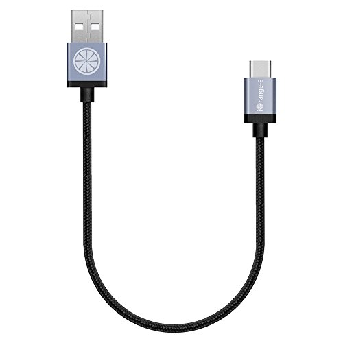 Price comparison product image USB C, iOrange-E 1ft USB C to USB Braided Cable for Samsung Galaxy S8, S8 Plus, Nintendo Switch, 2015 Macbook 12'', ChromeBook Pixel, OnePlus 2, Nexus 6P, 5X, Nokia N1 and More Type C Devices, Black