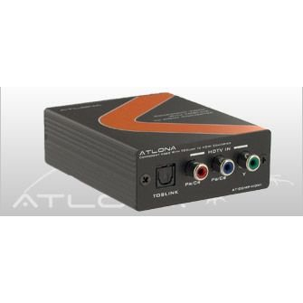 Atlona Component Video  with Audio To H by Atlona Technologies