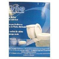 Lumex Locking Raised Toilet Seat, White by Graham-Field