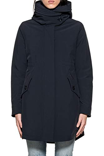 Woolrich Outerwear Poliammide Donna Wwcps2484st023126 Giacca Blu qgSqH