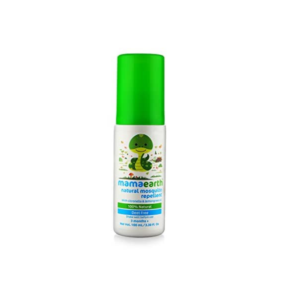 Mosquito Repellent Natural Spray by mamaearth with Natural Oils for Babies and Kids