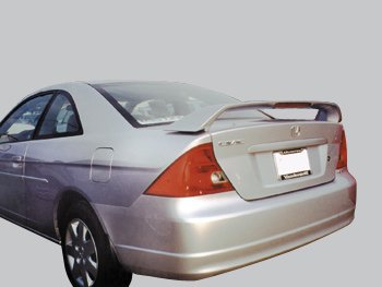 Accent Spoilers- Spoiler for a Honda Civic 2dr. Factory Style Spoiler-Vogue Silver Met Paint Code: NH583M ()