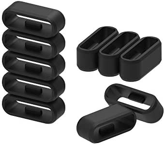 Strap Loop Fastener Rings Compatible with Garmin vivosport Bands 11Pack Black Rubber Replacement Watch Strap Band Keeper Loop Security Holder Retainer Ring for vivosport Smart Activity Tracker 31ORdSjd1zL