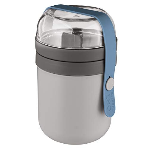 - BergHOFF Leo Collection 0.5QT Dual Lunch Pot (Grey Blue)