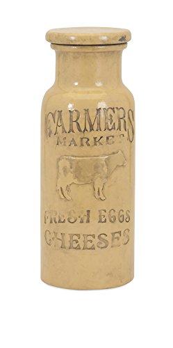 Imax 95602 Farmers Market Lidded Jar, ()