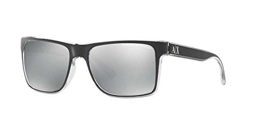 Armani Exchange Mens Sunglasses - Polarized - 57mm