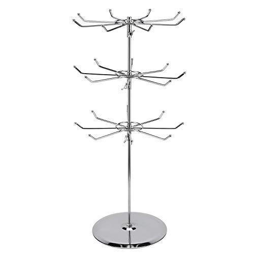 (Three Tier Counter Top Spinner Display Stand)