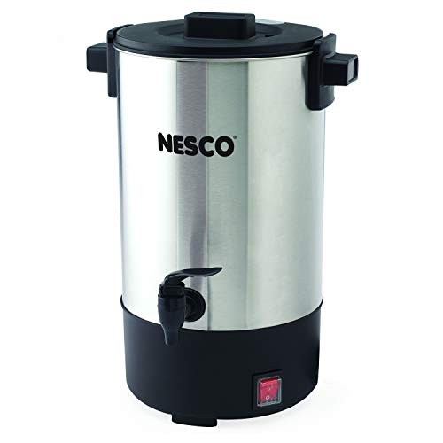 (NESCO CU-25, Professional Coffee Urn, 25 Cups, Stainless Steel)