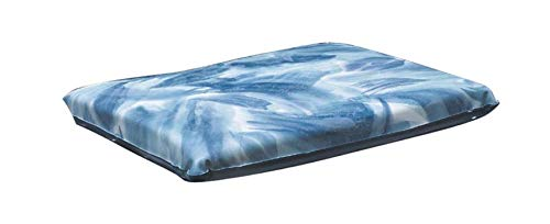 Gel Econo - Skil-Care Econo-Gel Vinyl Wheelchair Cushion with Polyester Cover, 18