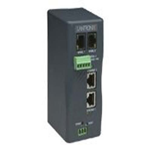 Lantronix Industrial Device Server XPress-DR+ - Device server - 2 ports - 10Mb LAN, 100Mb LAN - XSDR22000-01 by Lantronix