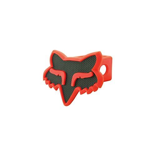 Fox Pvc Keychain - Fox Head Trailer Hitch Cover-Black/Red