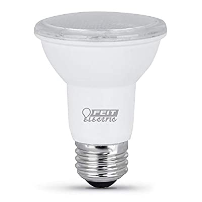 """Feit Electric R20/850/10KLED/3 Non Dimmable R20 (3-Pack) LED Light Bulb, 3.7"""" H x 2.5"""" D, Daylight 5000K, 3 Piece"""