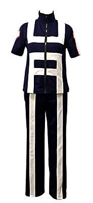 ROLECOS Mens Katsuki Bakugo Academy Gymnastics Uniforms Cosplay Costume Outfit