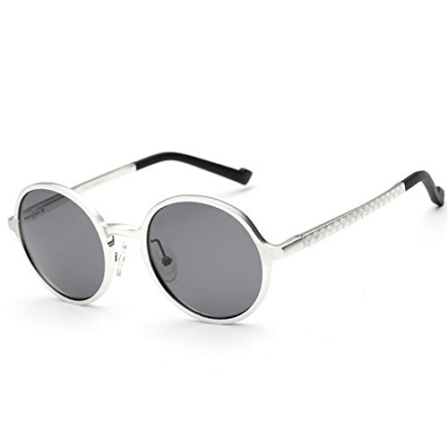A-Roval Men Polarized Round Large Fashion Metal - To Sunglasses How Fix Polarized