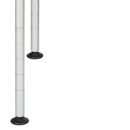 happimess HPM5013A Racking, 19.69 in. W x 11.81 in. D x 23.62 in. H, Silver by happimess (Image #4)