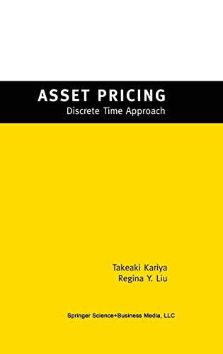 Asset Pricing: -Discrete Time Approach-