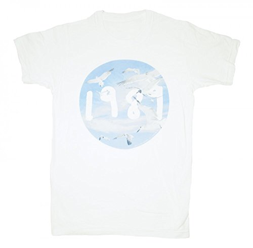 """Taylor Swift """"1989"""" Authentic Seagull T-Shirt (YOUTH MEDIUM)"""
