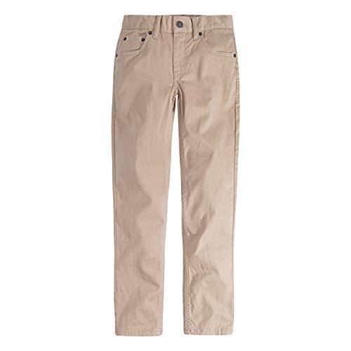 Levi's Boys' Little 511 Slim Fit Soft Brushed Pants, Incense, 7