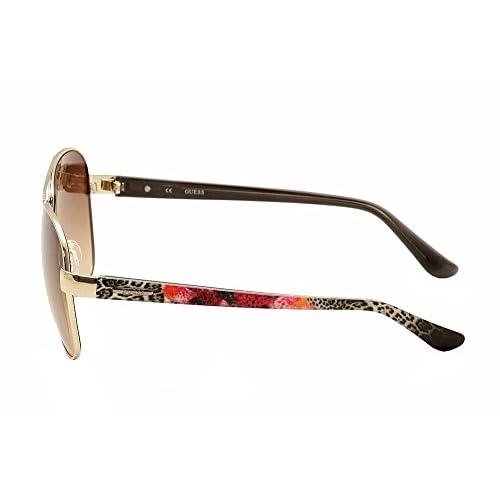 low-cost GUESS Women s Metal Aviator Sunglasses b9e6f997b7