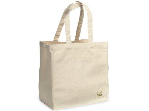 BULK LARGE Cotton Reusable Bags12-1/2x8-1/2x13-1/2'' - 100% Cotton 1 unit, 50 pack per unit. by Nas