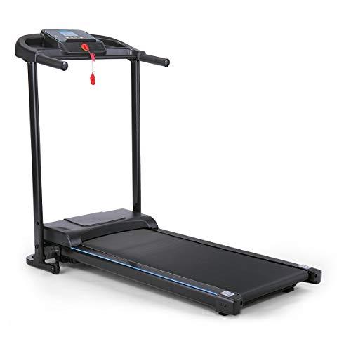 JAXPETY Folding Treadmill Fitness Machine Gym & Home Electric Motorized Power Treadmill 700W