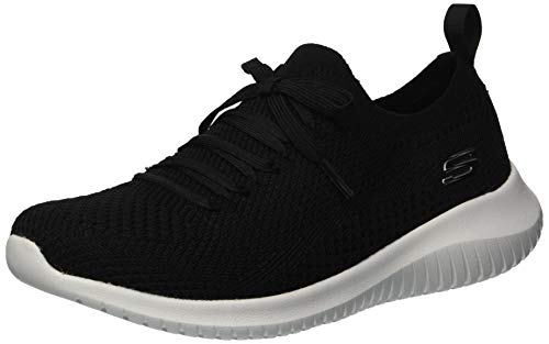 Statements Flex SneakersBlackwhite3 Girl's M Big Kid Ultra Skechers Us P8nwOk0